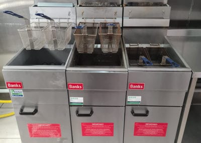 Banks deep fat fryer for takeaways and comercial kitchen Prokitchen catering equipment and supplies