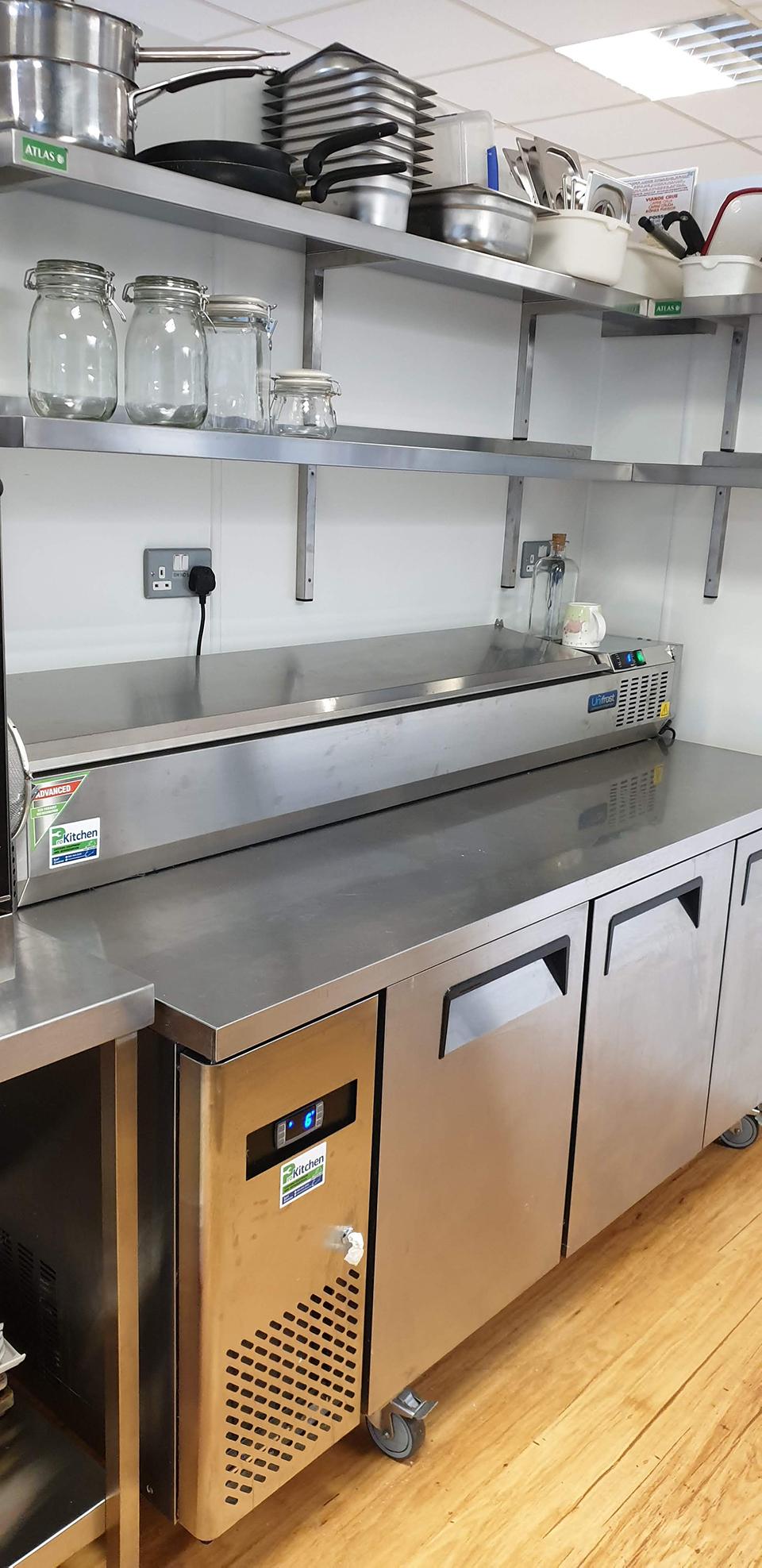 kitchen food prep area deli Prokitchen catering equipment and supplies